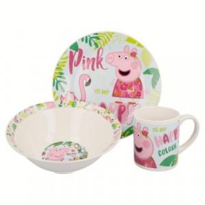 Детски сервиз за хранене Peppa pig