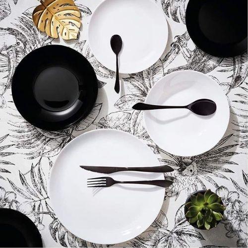Сервиз за хранене luminarc diwali black and white 19 части на ниска цена от MaxShop