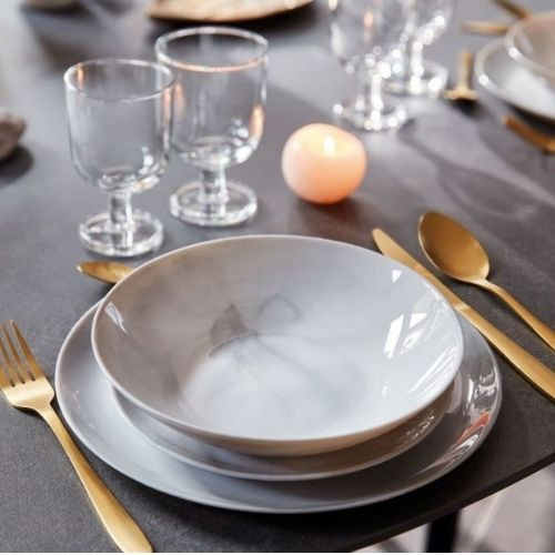 Сервиз за хранене Diwali Marble Luminarc 19.ч на ниска цена от MaxShop