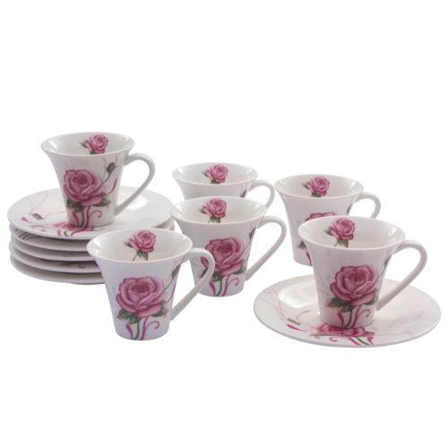 Комплект чаши за кафе Flower Collection на ниска цена от MaxShop