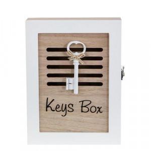 Дървена кутия за ключове Key Box