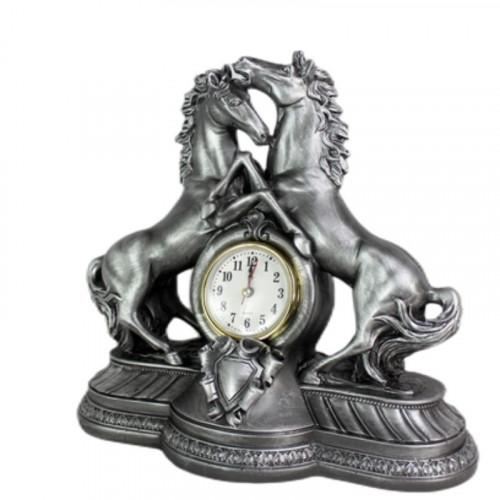 Декоративен часовник Коне на ниска цена от MaxShop