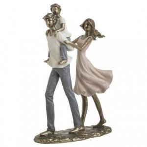 Декоративна фигура на Двойка мъж и жена с дете