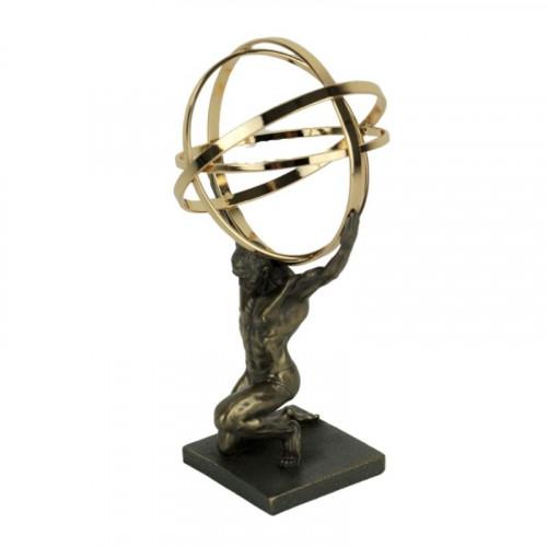 Скулптура на Атлас на ниска цена от MaxShop
